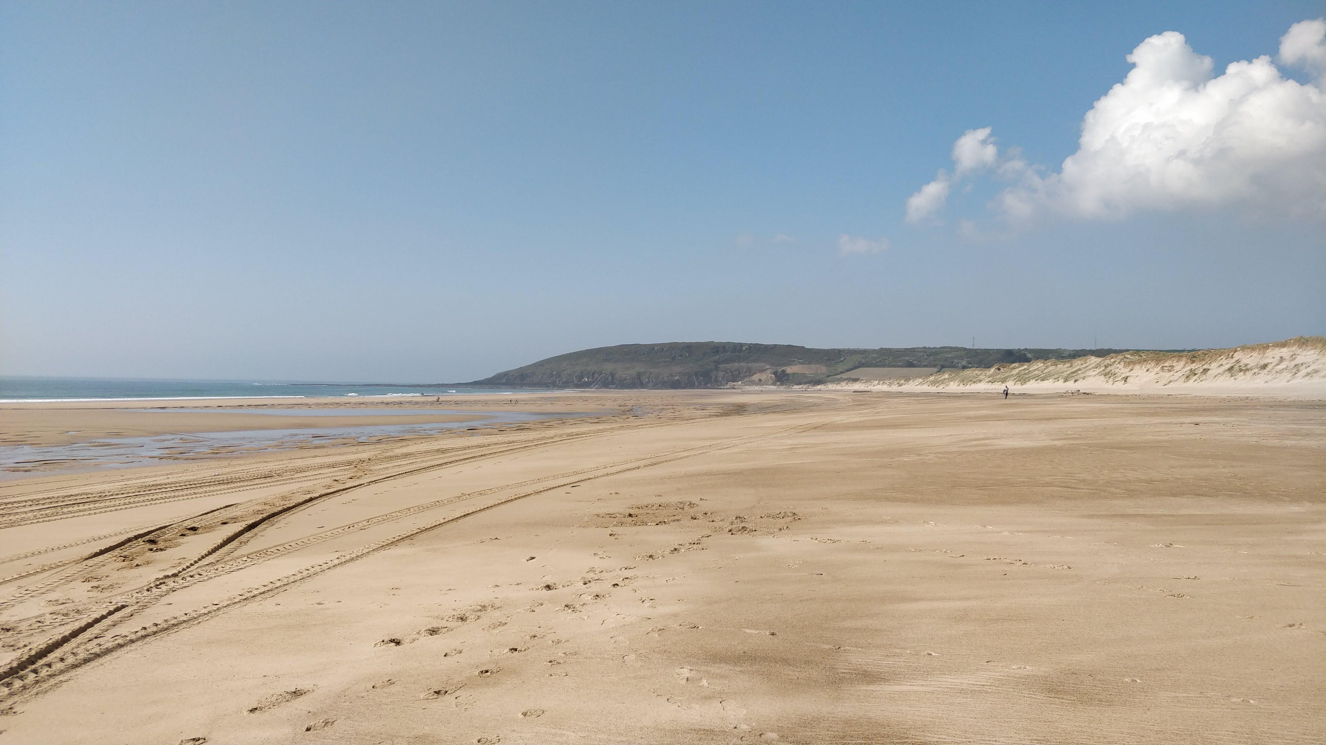 La plage de Surtainville © Arnaud Hie