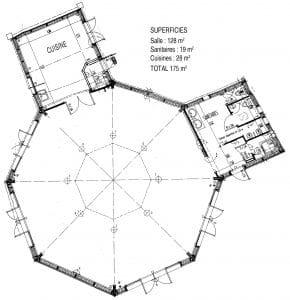 Le plan de la Poupardière