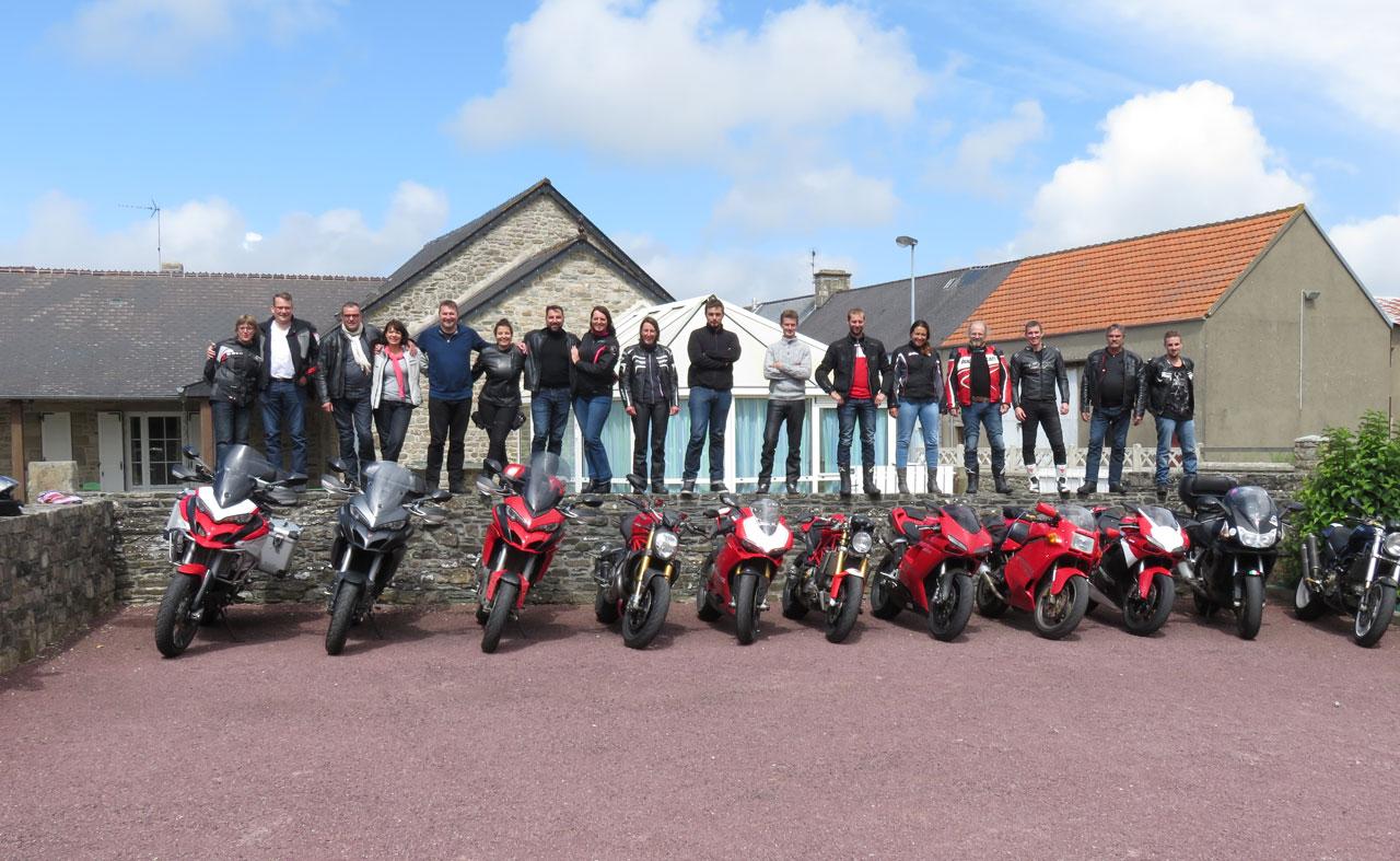 Juillet 2017 : week end du Ducati Club Haute Normandie