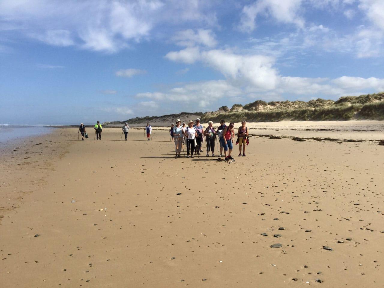 Juin 2017 - Randonnée sur la plage