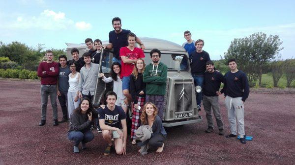 Mai 2017 - Des étudiants espagnols en week-end
